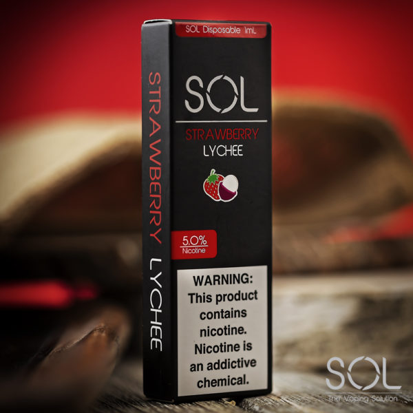 SOL Disposable Strawberry Lychee