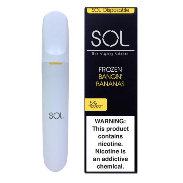 SOL Disposable Frozen Bangin Banana